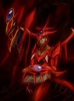 Slifer Incarnate by slifertheskydragon