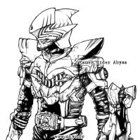 Kamen Rider Abyss 1 by Uky0