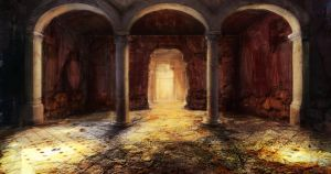 Catacomb Entrance Hall by jordangrimmer