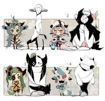 [CLOSED] ADOPT Auction 69 - Shadosmonsters by Piffi-adoptables