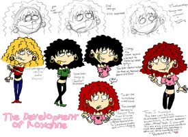 The Development of Roxanne by vaness96