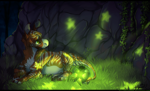 Essai guide training: Glow by ScribbleWoof