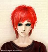 Gaara by Puppet-Girl86