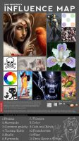 Influence Map 2011 by MMWoodcock