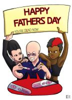 Happy Fathersday, Mr.Zsasz by LauraFMeis
