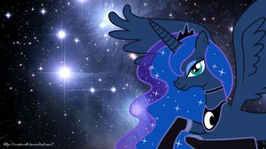 Wallpaper - Princess Luna by Mach-Volt