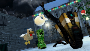 GMod Holiday 2012 - Run Claptrap, Run! by MrWhitefolks