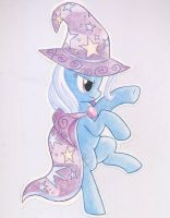 The Great and Powerful Trixie, Wall Art by FrostieFilly