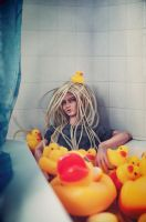 Bathroom_and_ducks by saikoxix