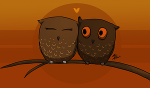 I will love you owlways by Saerl