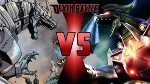 Mechagodzilla vs Dragonzord by FEVG620