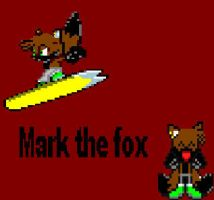 Mark the fox by CozandTails