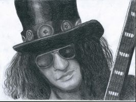Slash, Guns and roses by flaviudraghis