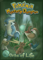 Pokemon Mystery Dungeon Orbs Of Life Cover by embea