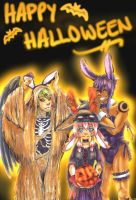 Happy Halloween - Ears for All! by Synarialle