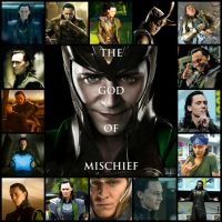 Loki Collage by Mind-Wolf