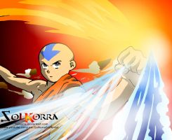 Aang The Epic Avatar by SolKorra by SolKorra