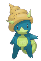 Fakemon: Shellfry by Valor810