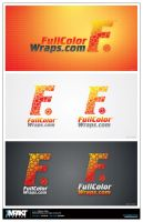 Full colour wraps logo by crezo