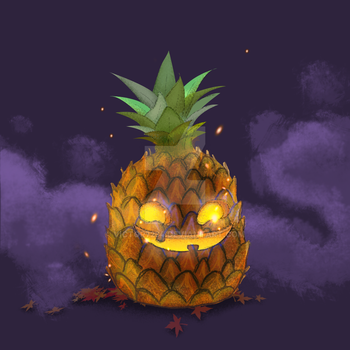 Tropical Halloween by victor7234