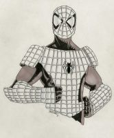 Spider-Armor by jestersforce