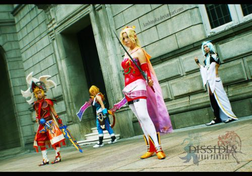 Dissidia: Final Fantasy by niladnama