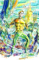 Aquaman by deankotz
