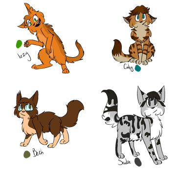 Total Drama, Characters pt 3 by Drama-kitty