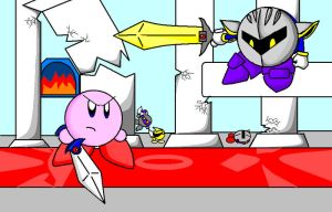 the final showdown by KingKirbyThe3rd