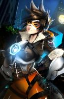 Tracer (OVERWATCH) by pinupcase