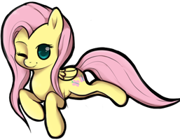 Fluttershy by TheSilliestWilly