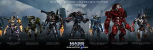 MassEffect PacificRim Crossover Hold The Line by rs2studios