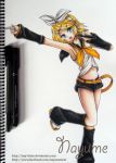 Kagamine Rin by Nay-Hime