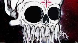 Graffiti Skull by dfordesmond
