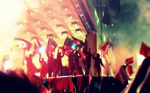 Muse revolution! Live at Wembley by Halfofthat