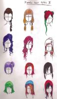 female hairstyles 2 by YuhiUmi