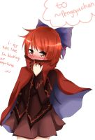Request- Tsundere Sekibanki by nyaku-dono