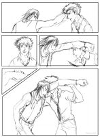 Gungrave vs. Cowboy Bebop roughs -- Page 2 by shellpresto