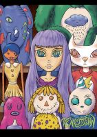 My Toy Family by GiselleLlamas