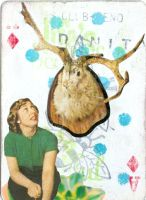 jackalope : card collaboration by beehivesandbouffants