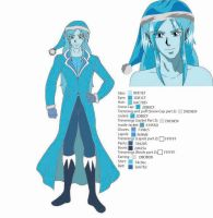 Jack Frost character design color by LaurenNightshade