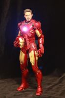 Iron man figure by DavidDoylearts