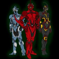 The Guyver Crew by Guyver89