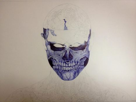 The Zombie Boy WIP I by 7ayat