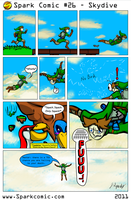 Spark Comic 26 - Skydive by SuperSparkplug