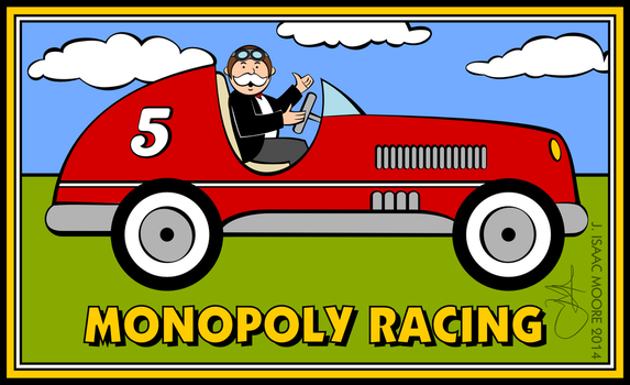 Monopoly Racing by jonizaak