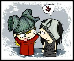 corey and joey (slipknot) :3 by Dany-Tailors