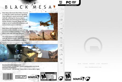 Black Mesa Source - White Cover by JannoBuzzBazz