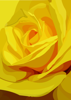 Yellow rose 2 by elviraNL