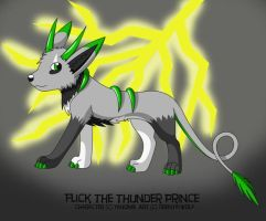 Trade:Flick the Thunder Prince by DrentaiWolf